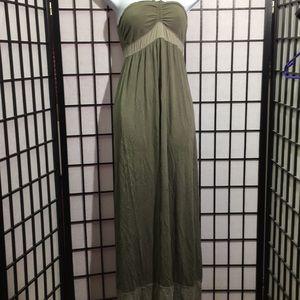 Hollister Halter Maxi Dress Size M